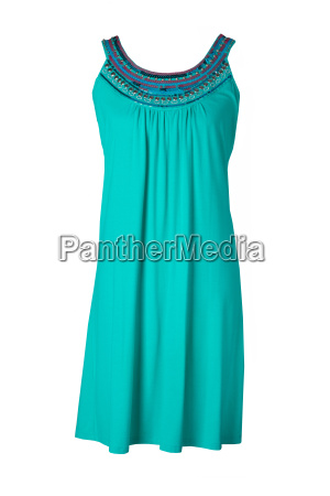 fashionable summer clothes isolated on a