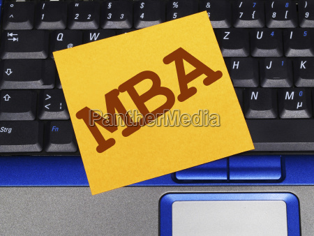 memo note on notebook mba