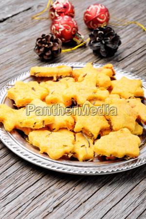 mixed christmas cookies