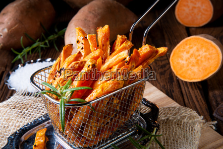 crispy sweet potato fries from the