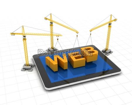 constructing website