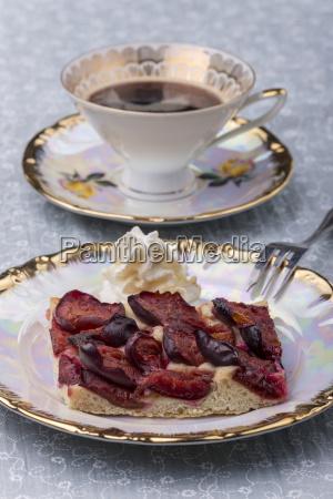 bavarian zwetschgendatschi a local plum cake