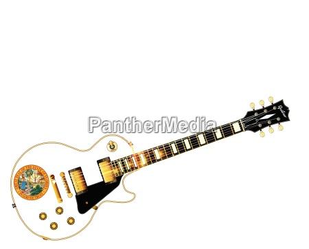 florida flag guitar guitar