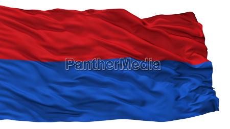 papa city flag hungary isolated on