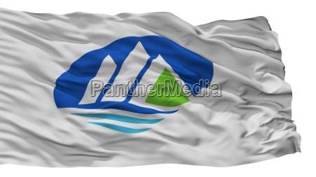 hakusan city flag japan ishikawa prefecture