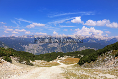 view to mount triglav the highest