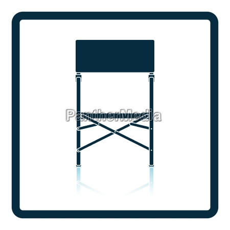 icon of fishing folding chair on