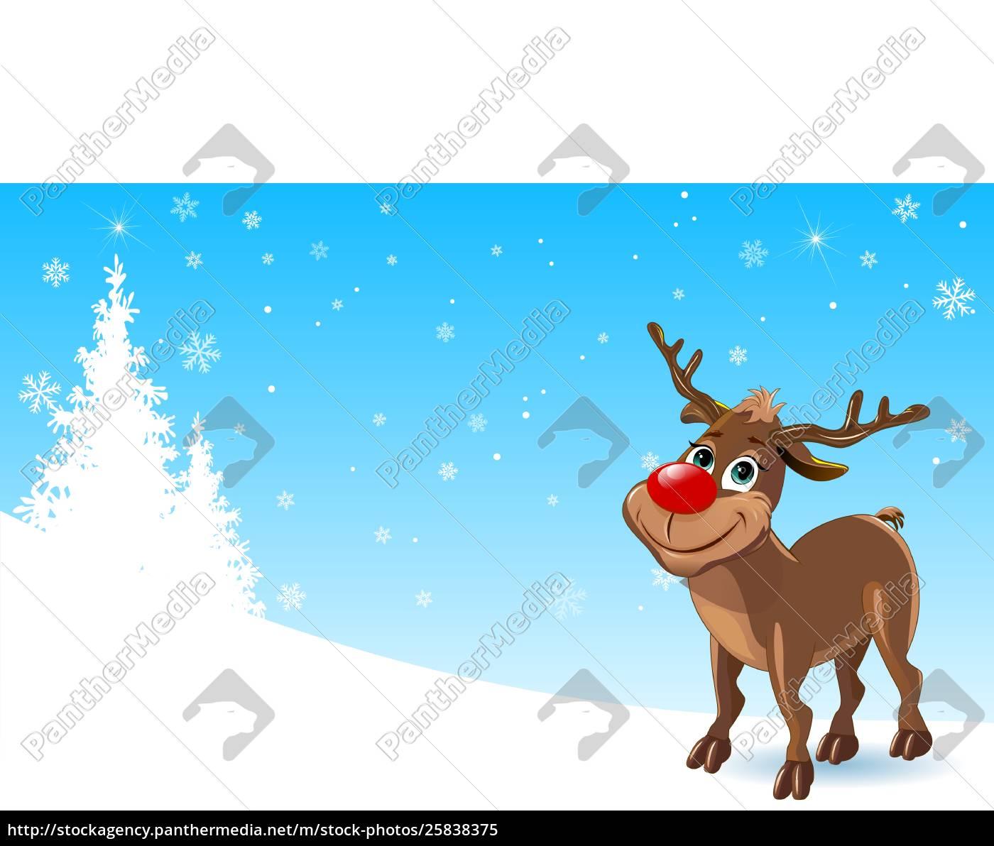 deer, in, the, winter - 25838375