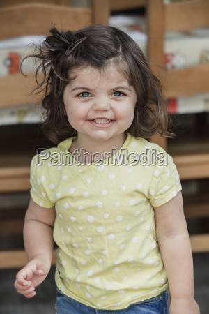 headshot of a little girl