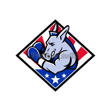 american donkey boxer usa mascot
