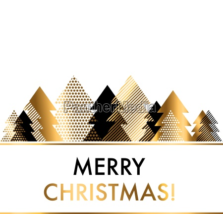 luxury style black and gold christmas