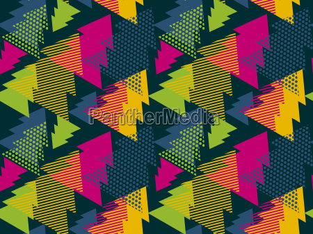 abstract art vector background christmas tree