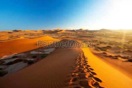 beautiful landscape hidden vlei in namibia