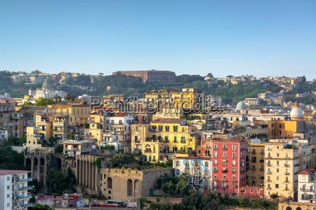 naples cityscape view