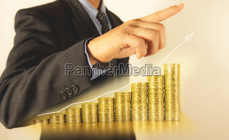 double exposure stock financial indices and