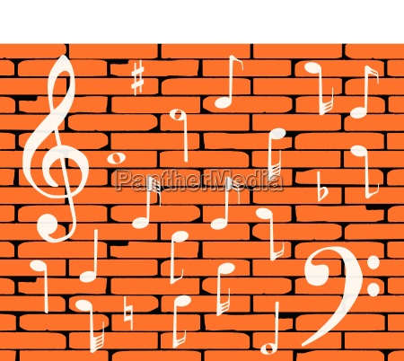 music wall background