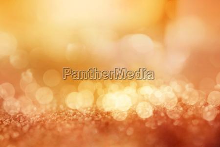 golden glittering lights background