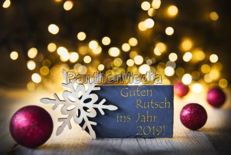 christmas background lights guten rutsch means