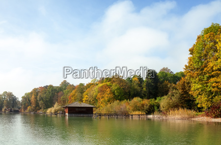 sea in autumn