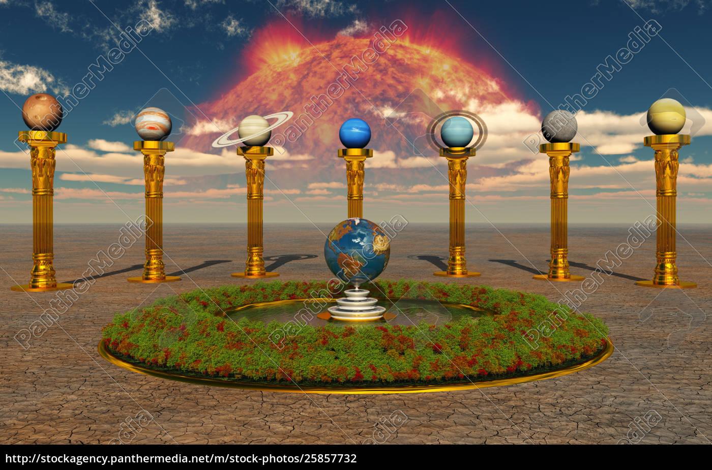 solar, system - 25857732