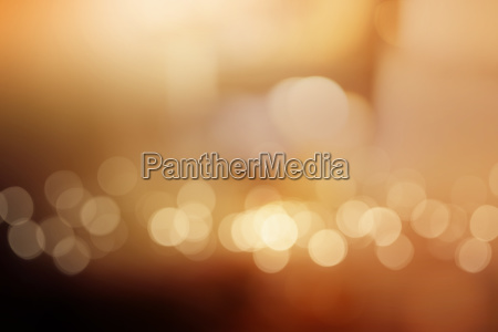 abstract copper luminous bokeh background