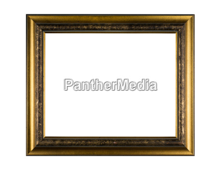a wooden picture frame on a