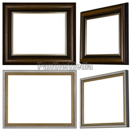various picture frames with profile in