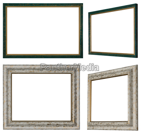 different views of two picture frames