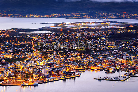cityscape view of tromso norway