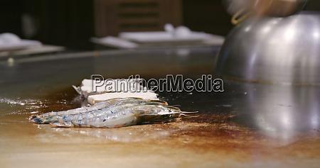 teppanyaki in taiwan restaurant grilling seafood