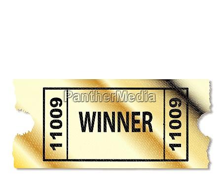 golden winner ticket