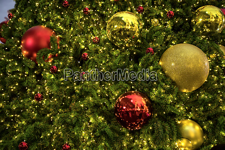 close up background image of decorated