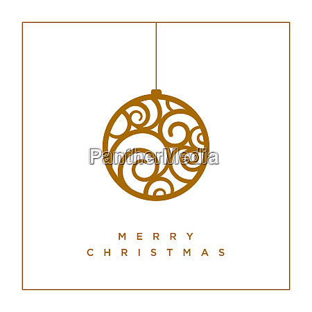 vector christmas greeting card design