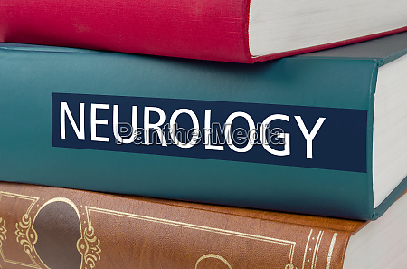 a book with the title neurology