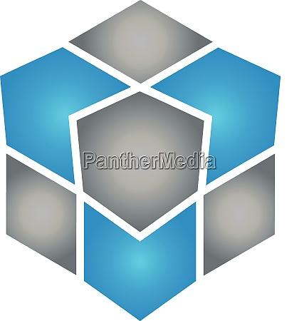 cubes data it services logo