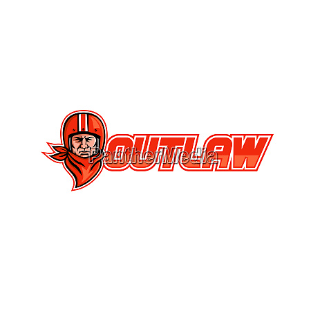 motorcycle biker outlaw retro