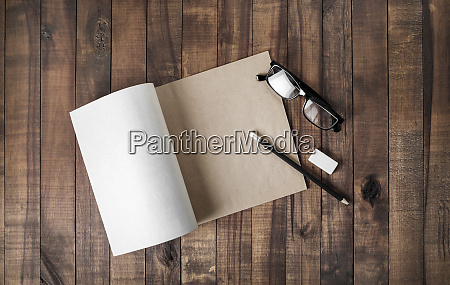 notepad and stationery