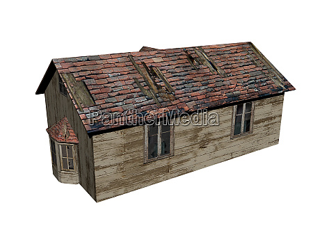 wooden hunting lodge