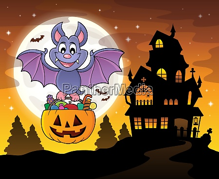 halloween bat theme image 4