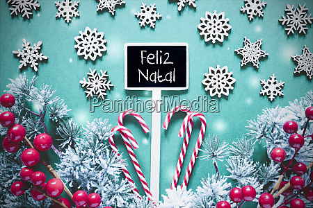 black christmas sign lights feliz natal
