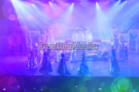 blurred background entertainment cabaret