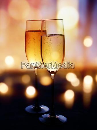 champagne to celebrate