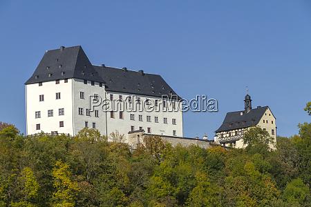 castle burgk over the dam burgkhammer