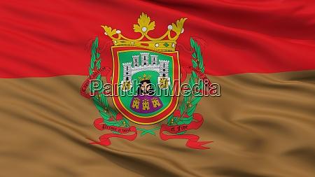 la ciudad burgos city flag spain