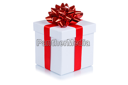 birthday gift christmas present white box