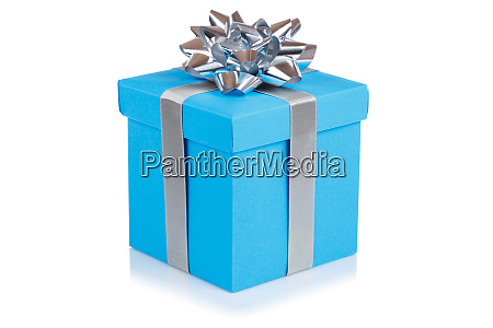 birthday gift christmas present light blue