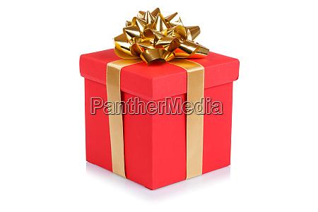 birthday gift christmas present red box