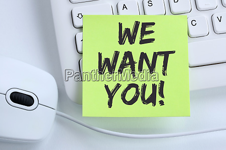 we want you jobs job working