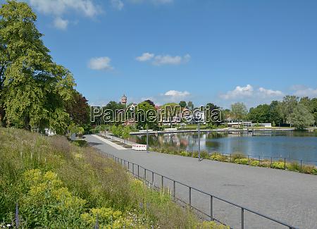 promenade of eutin at lake grosser