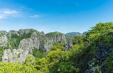 rock or stone mountain khao dang